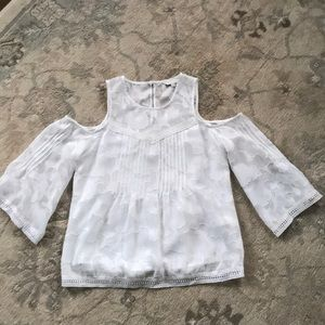 Lucky White Top XS NWOT